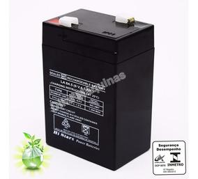 Bateria 6v Para Balança Urano Toledo Filizola Ramuza Upx