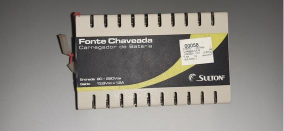 Fonte Chaveada Carregadora De Bateria