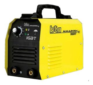 Soldadora Inverter Electrodo Bta Mma205h Profesional 965426