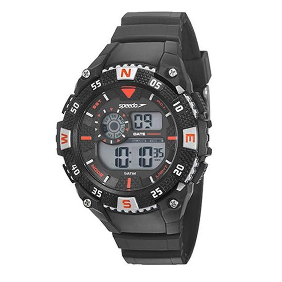 Relógio Speedo Masculino 11012g0evnp1 C/ Garantia E Nf