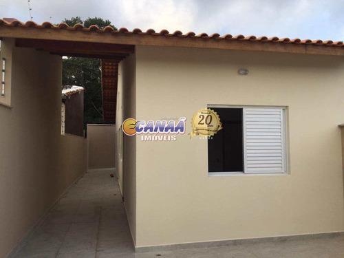 Casa Com 2 Dorms, Jamaica, Itanhaém - R$ 180 Mil, Cod: 8122 - V8122