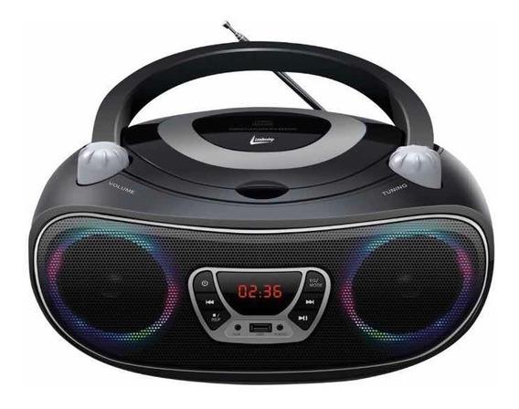 Caixa De Som Bluetooth Rádio Cd Mp3 Goldship Colors Boombox