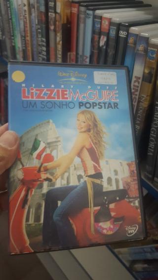 Dvd Filme Original - Lizzie Mcguire Um Sonho Popstar