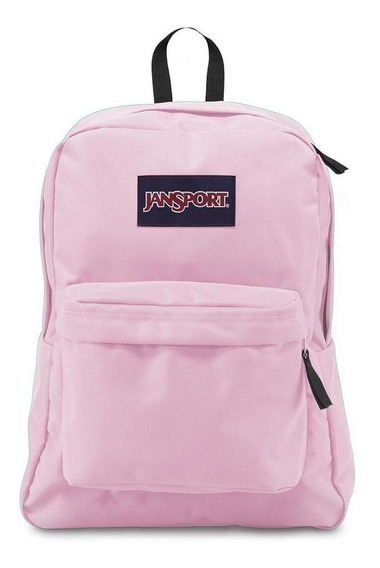 Mochila Jansport Superbreak Pink Mist