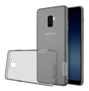 Capa Nillkin Nature Fumê Samsung Galaxy A8 Plus A8+ Original
