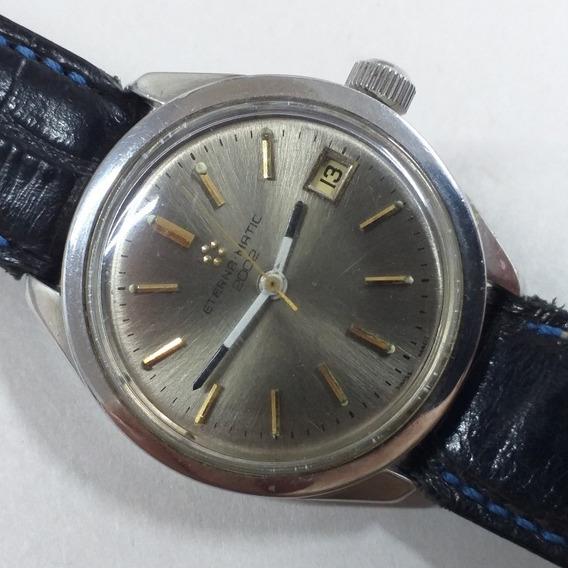 Relógio Eterna Matic Grandão 2002 Swiss Made Automático 70