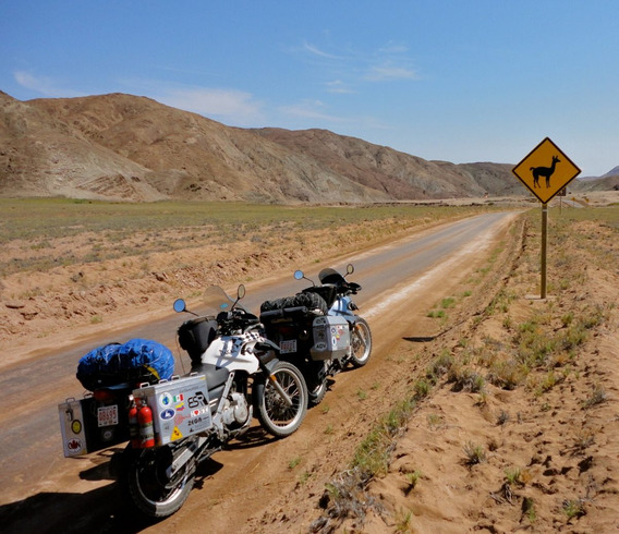 Cartela Com 20 Adesivos Viagem Moto Chile, Bolívia, Rutas