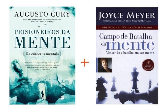 Livro Prisioneiros Da Mente + Livro Campo Batalha Da Mente
