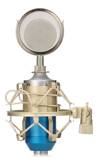 Leihao Bm -8000 Profissional Estúdio De Som Microfone Conden
