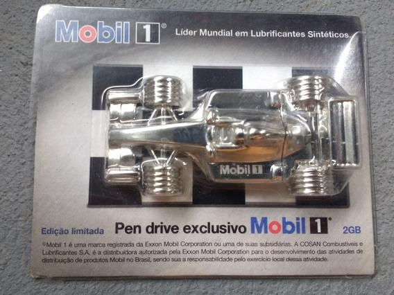 Pendrive Exclusivo Mobil-1 Ítem De Coleção ( Novo)