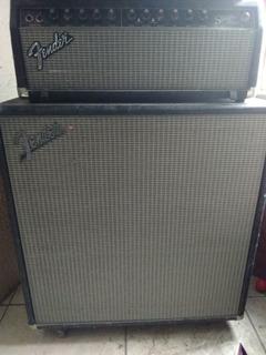 Fender Stage 100 Con Gabinete De 4 Bocinas 12 Para Guitarra