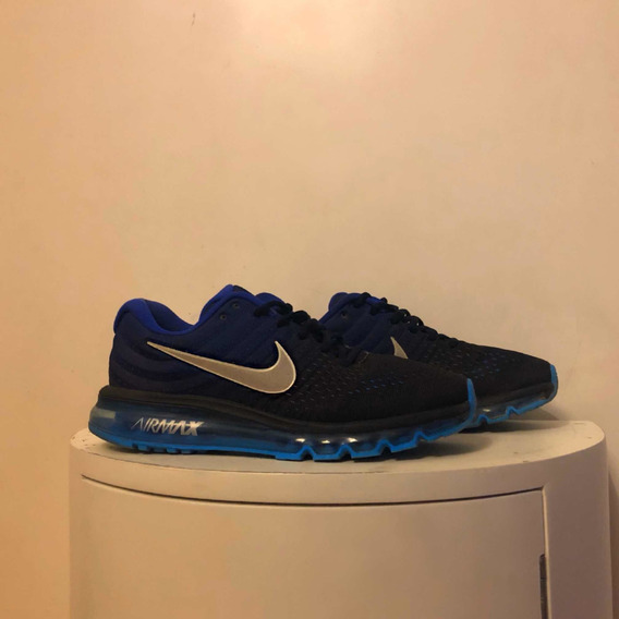 Zapatillas Nike Hombre Air Max 2017 Color Azul