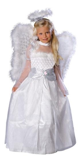 Disfraz De Angel Completo Para Niña Somos Tienda