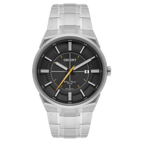 Relógio Orient Masculino Mbss1328 G1sx Prateado