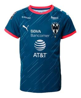 Playera Jersey Club Rayados Monterrey Niño 01 Puma 703863