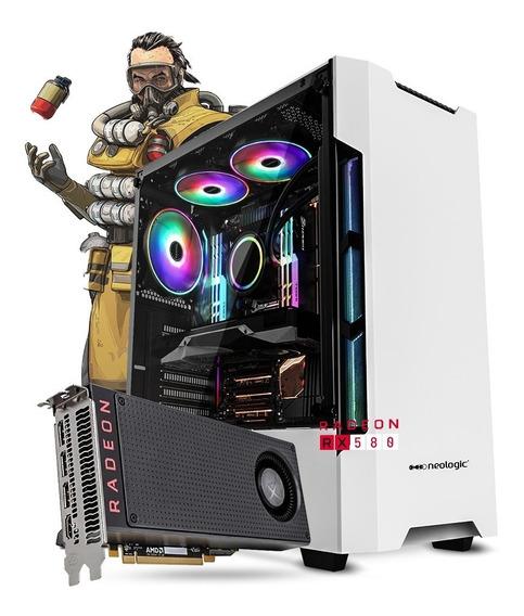 Pc Gamer Neologic 81367 Ryzen 5 2400g 8gb (rx 580) Ssd 240gb