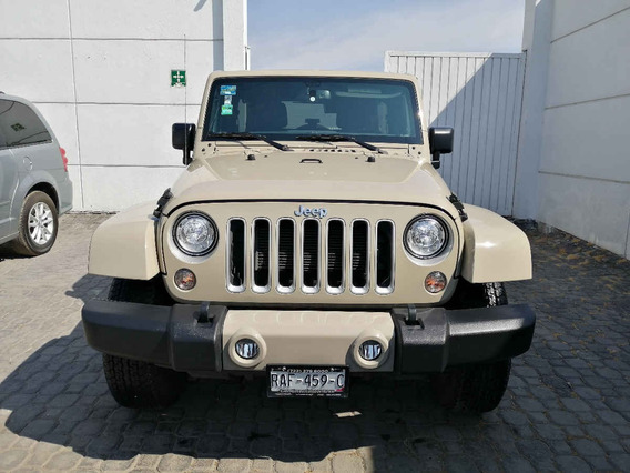 Jeep Wrangler 2018 5p Unlimited Sahara V6/3.6 Aut