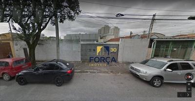 Terreno Para Alugar, 850 M² - Parque Novo Mundo - São Paulo/sp - Te0031