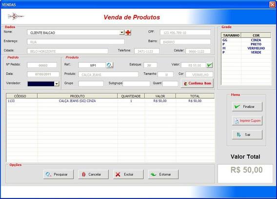 Sistema Programa Software Para Lojas De 1,99, Loja Do 10
