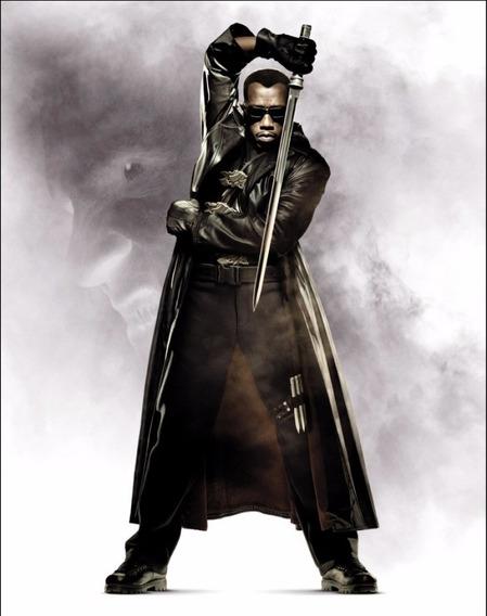 Sobretudo Blade - Morpheus Matrix (couro Sintético)