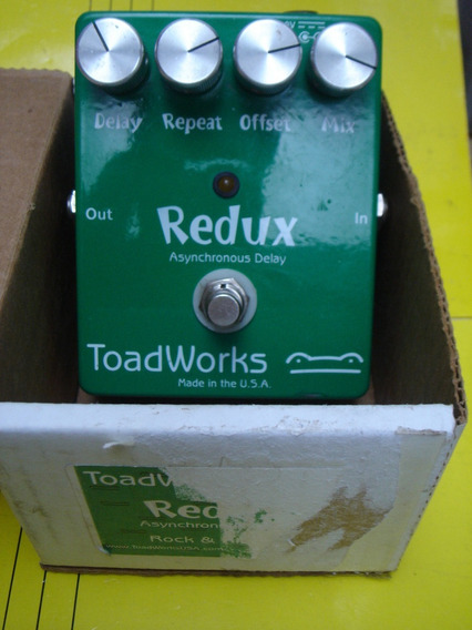 Pedal Toadworks Redux Asynchronus Delay Made Usa Boutique