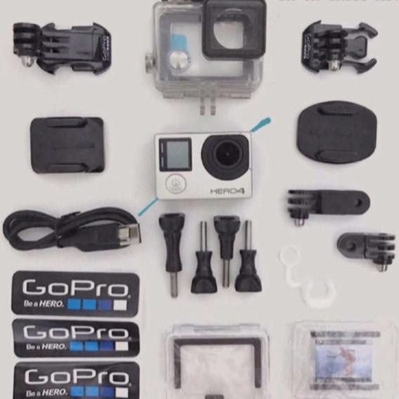 Gopro Hero 4 Silver Seminovo (c/ Caixa + Acessórios Novos)