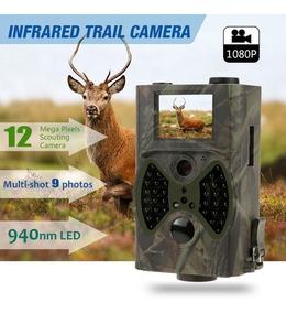 Câmera De Trilha Caça Hc-300a Noturna Ceva 12 Mp Full Hd