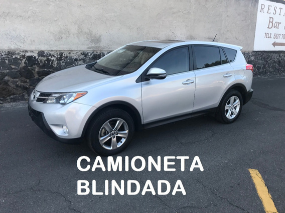 Toyota Rav 4 Limited Blindada 3 Plus 2013 (impecable)