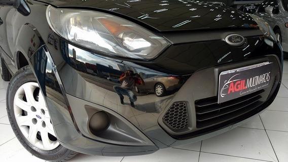 Ford Fiesta Se 1.0 Preto 2014 Único Dono Completo