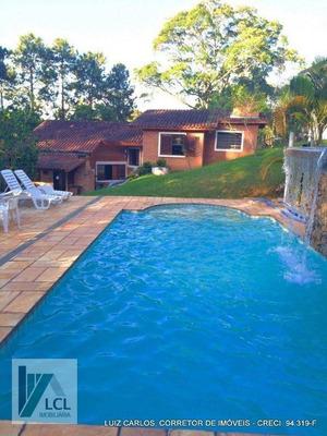 Casa Com 4 Dormitórios À Venda, 400 M² Por R$ 750.000 - Aldeinha - Itapecerica Da Serra/sp - Ca0013
