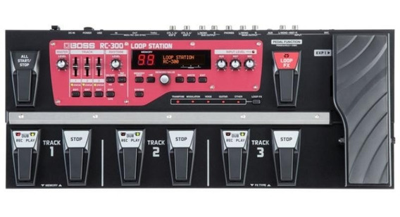 Pedaleira Para Guitarra Boss Rc-300 Loop Station