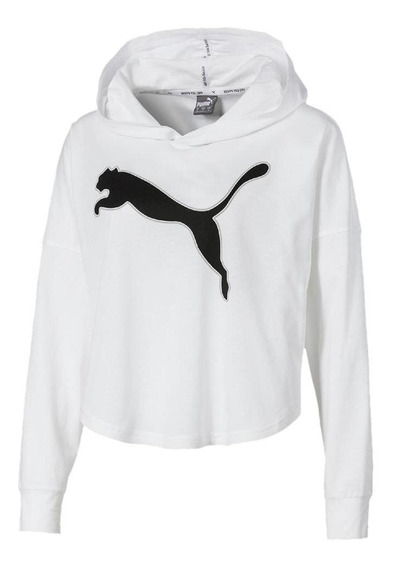 Camiseta Puma Modern Sports Cover Up Manga Longa Feminina