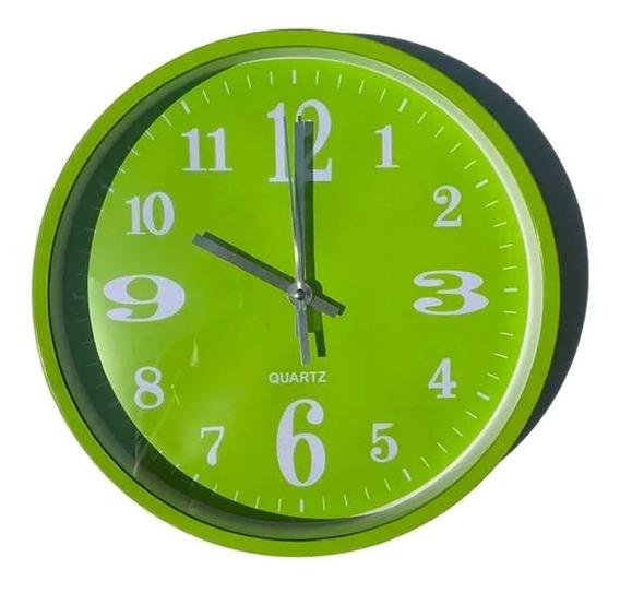 Reloj De Pared Colores Con Pila Incluida