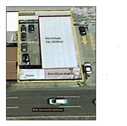 Imagen 1 de 1 de Local Renta 500 M2 Punto De Venta Blvd. Bernardo Quintana