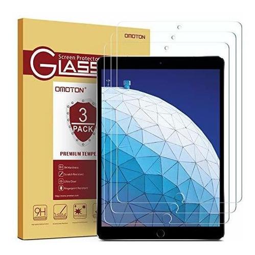 Omoton 3 Pack Protector De Pantalla Para iPad Air 3 105 PuLG