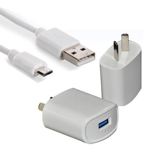 Imagen 1 de 4 de Cargador Rápido 2.4a + Cable Huawei P Smart Gw Y6 Y7 P9 Lite