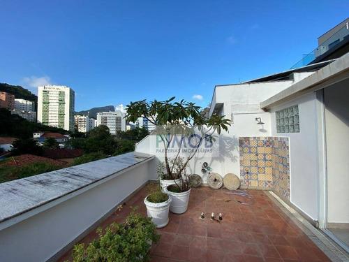 Casa Com 3 Quartos À Venda, 220 M² Por R$ 3.900.000 - Gávea - Rio De Janeiro/rj - Ca0102