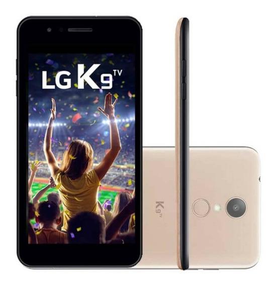 Smartphone Lg K9 Com Tv Digital Dourado 16gb 5 Camera 8mp
