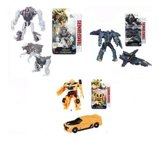 Transformers Clase Legion Megatron, Grimlock Y Bumblebee