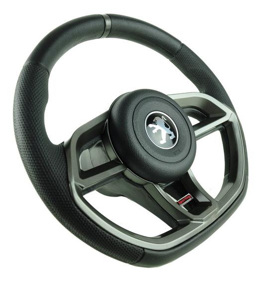 Volante Esportivo Golf Gti Peugeot 106 206 207 306 Grafite