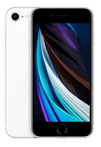 Imagem 1 de 1 de iPhone SE Branco, Com Tela De 4,7 , 4g, 128 Gb - Mhgu3br/a