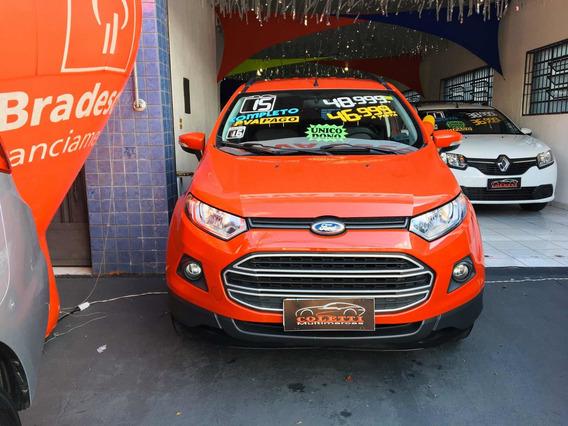 Ford Ecosport 1.6 16v Se Flex 5p 2015 Sem Entrada