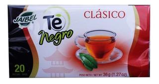 Jaibel Te Negro Clasico 20 Und 36g