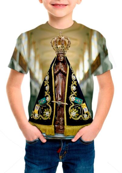 Camiseta Infantil Nossa Senhora Aparecida - M002