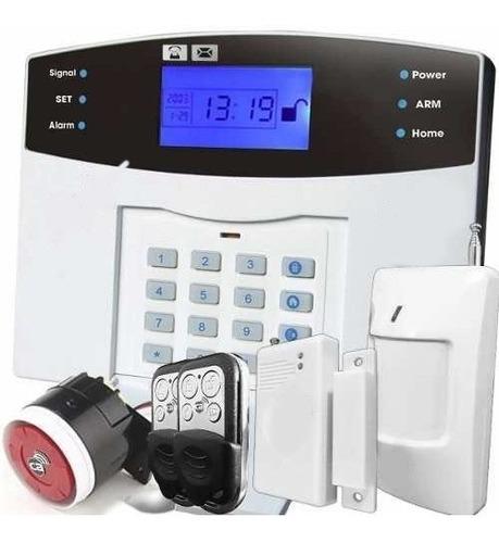 Imagen 1 de 7 de Alarma Casa Gsm Inalambrica Inteligent Oficina Negocio Local
