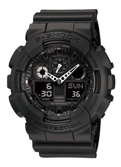 Relógio Casio G-shock Ga-100-1a1dr - Original C/ Nota
