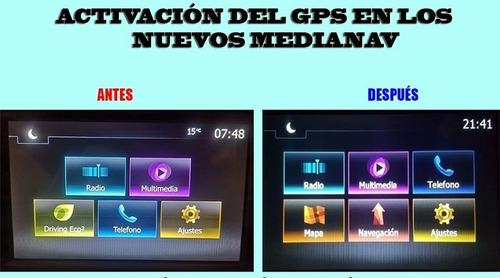 Activación Del Botón Gps En Los Nuevos Medianav Renault