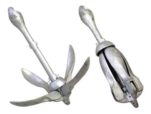 Imagem 1 de 1 de Âncora Folding Jet Ski E Caiaque Galvanizada 3,2 Kgs Cod017