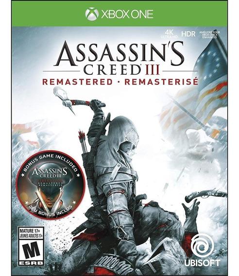 Assassin's Creed Iii: Remastered - Xbox One Lacrado