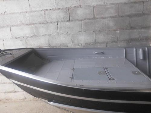 Barco De Aluminio Com Plataforma Boca De 1.50